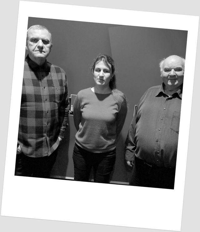 Jean-Charles de Castelbajac, Laetitia Bernard et Michel Pastoureau