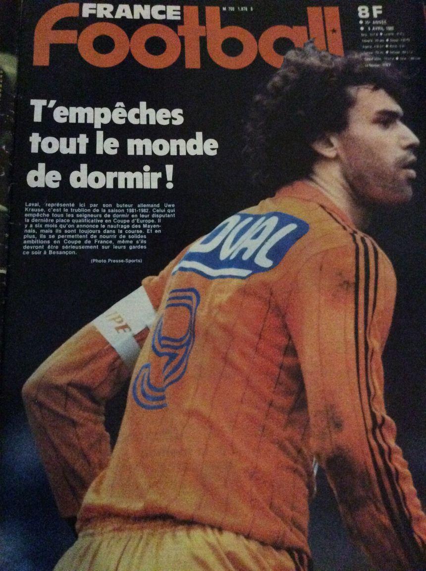 Lépoque où le Stade Lavallois faisait la une des magazines