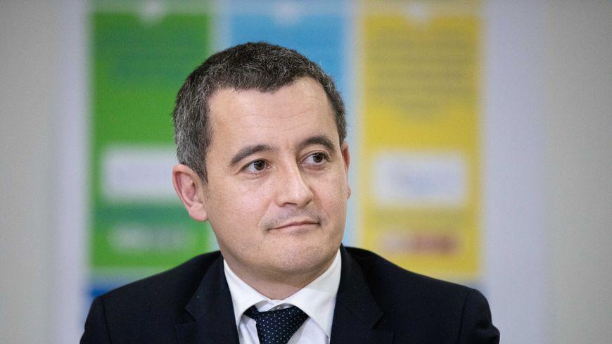 Gérald Darmanin, le ministre de l'Action et des Comptes Publics