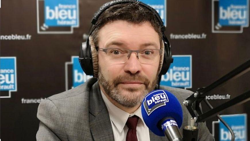 Le député LREM de l'Hérault Christophe Euzet