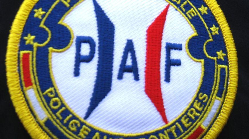 Ecusson de la Police aux frontières (PAF).