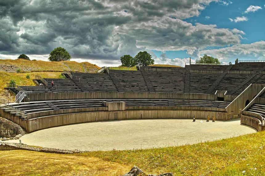 l'amphithéâtre de Grand tel qu'il est de nos jours