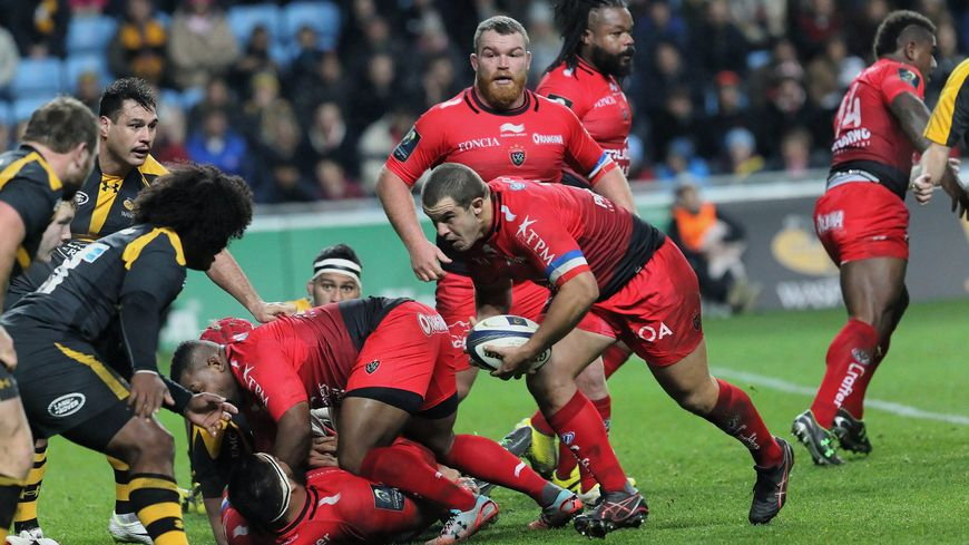 Anthony Etrillard, contre les London Wasps le 22 novembre dernier