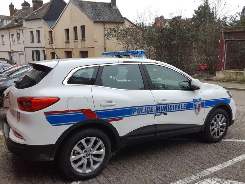 La nouvelle voiture est déjà en service dans les rues de Louviers