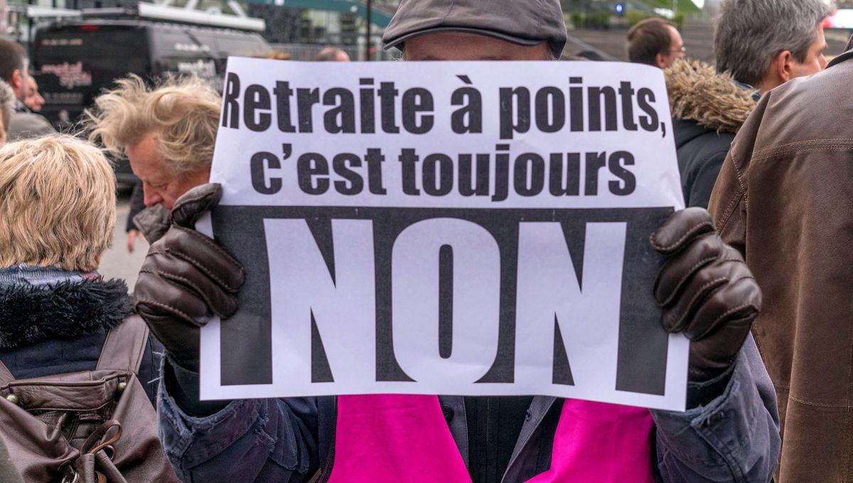 Mobilisation contre la réforme des retraites en Alsace : l'écluse de Vogelgrun bloquée