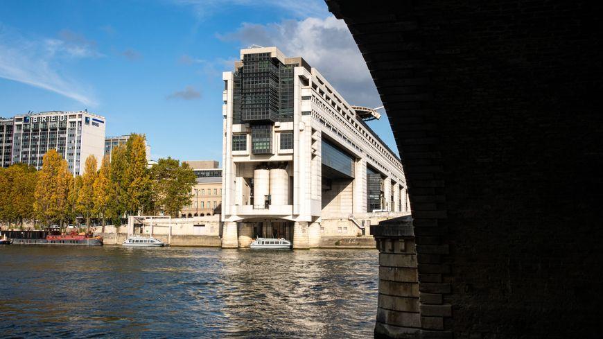 Le ministère de l'économie et des finances à Paris - Bercy