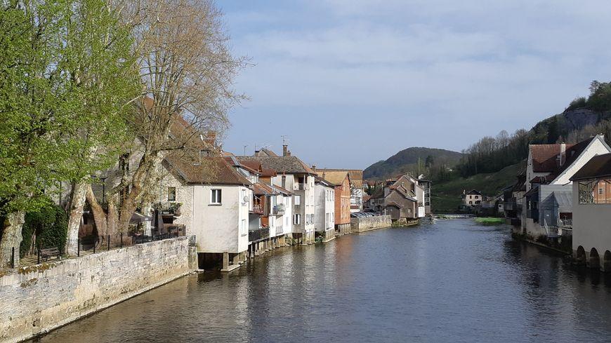 Ornans,  ville natale de Gustave Courbet