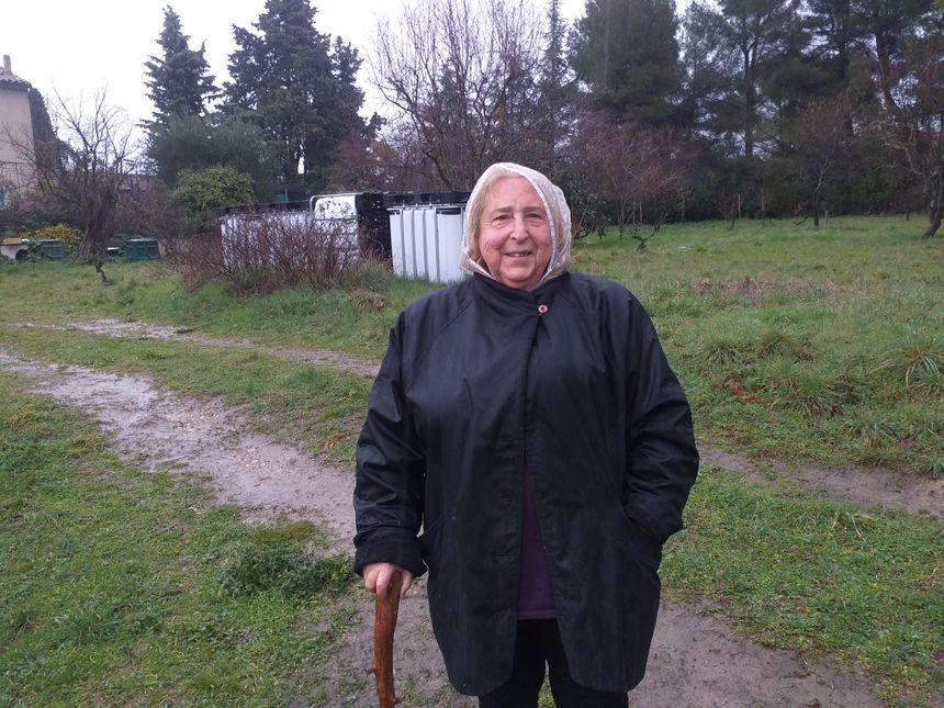 Mireille a participé à l'opération de comptage des oiseaux dans son jardin à Carpentras.