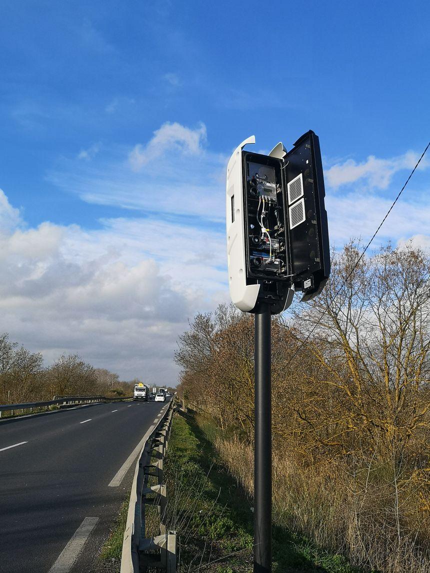 Radar Tourelle dégradé sortie Agde en direction de Béziers