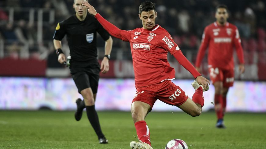 Enzo Loiodice, ici en novembre 2018 contre Bordeaux