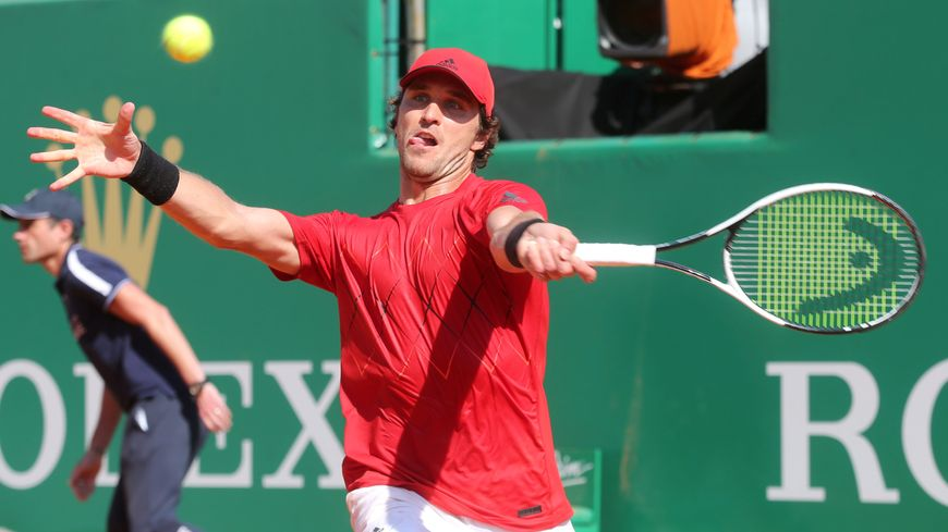 Mischa Zverev, lors du tournoi de Monte-Carlo 2018.
