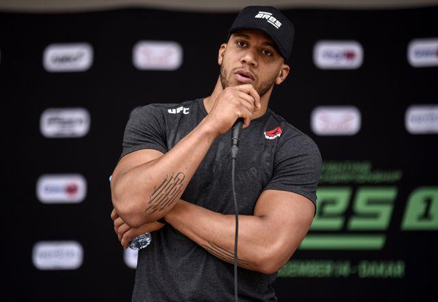 Cyril Gane, l'un des grands noms du MMA à la française.