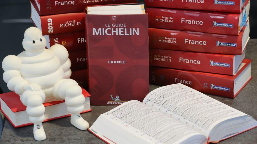 La couverture du Guide Michelin 2020 (photo d'illustration).