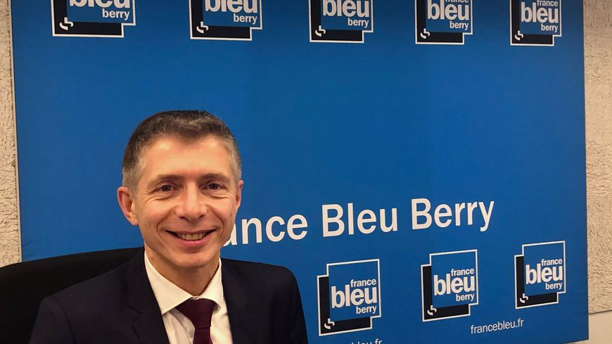 Gil Avérous, maire de Châteauroux et candidat à sa propre succession