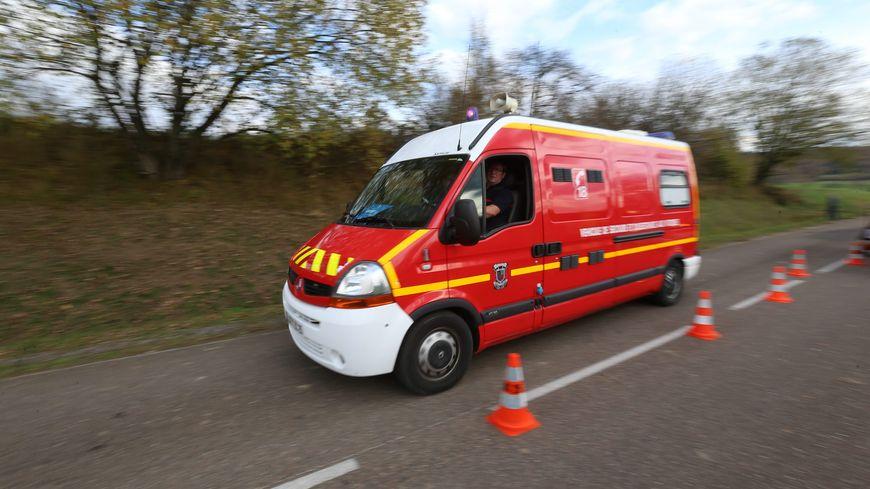 Intervention des secours sur un accident