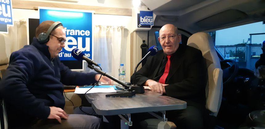 Bertrand Pascuito maire de Cournon-d'Auvergne
