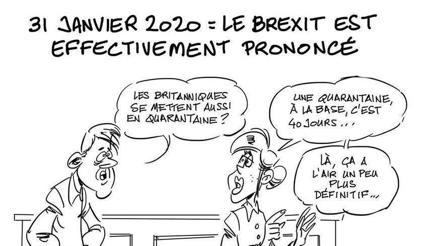 31 Janvier 2020 le Brexit est prononcé