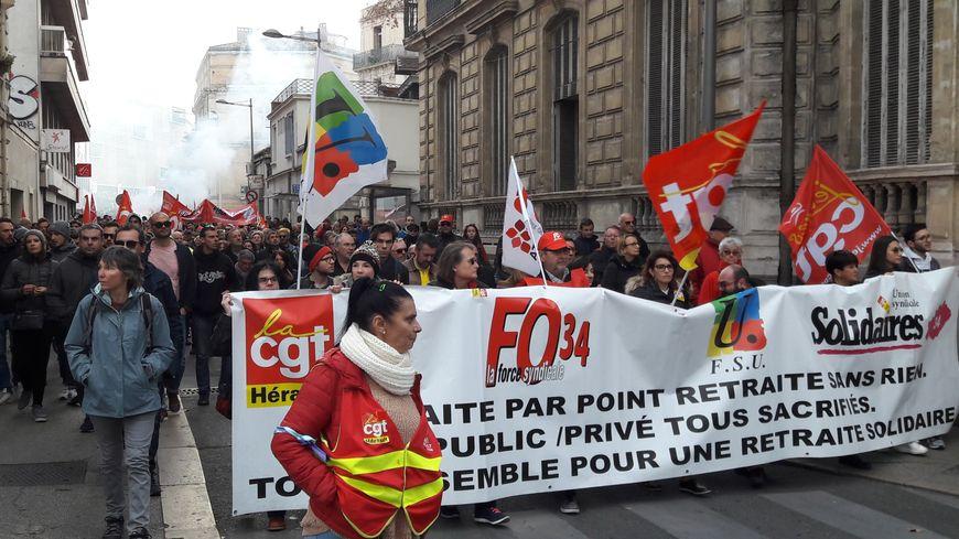 Plusieurs milliers de manifestants dans l'Hérault notamment à Montpellier, Béziers et Sète (illustration)