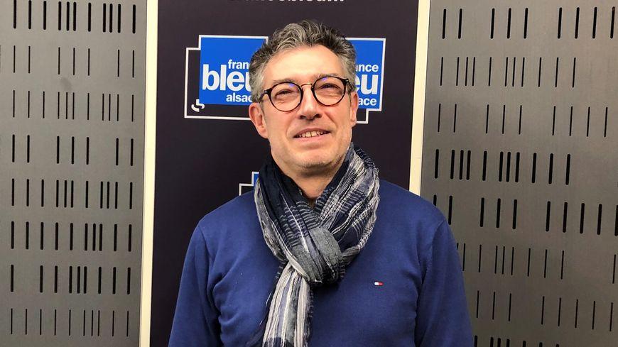 Benoit, gérant du Collis Martis à Colmar