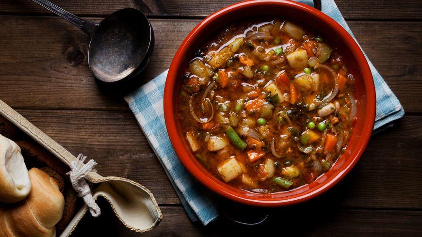 Une soupe qui tient au ventre...