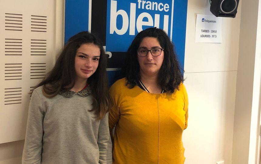 Céline Courrèges et sa fille