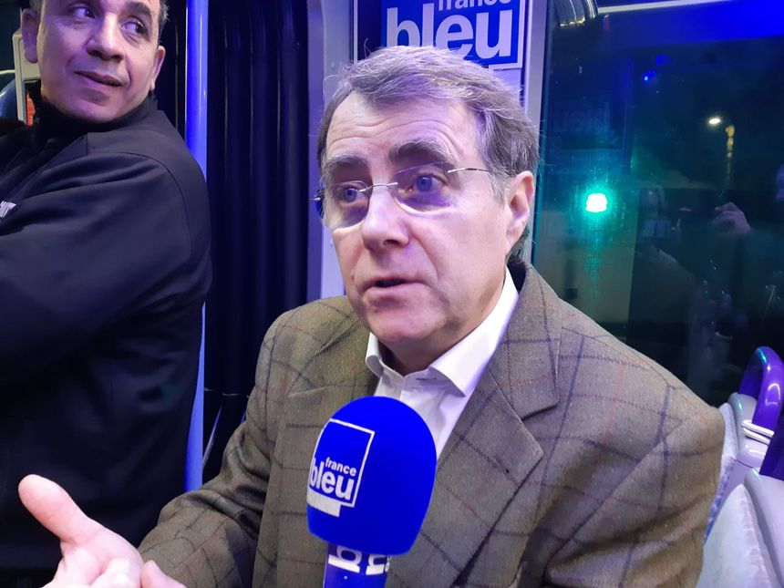 Serge Grouard, ancien maire d'Orléans, et candidat aux municipales 2020