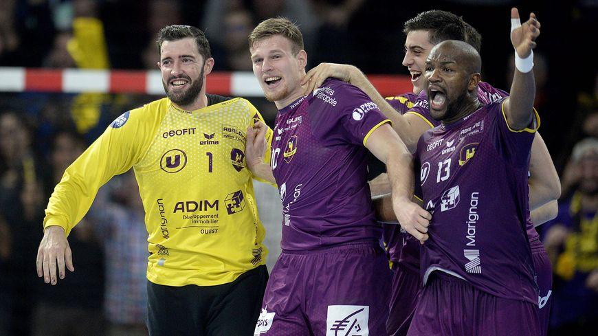 Les joueurs du HBC Nantes