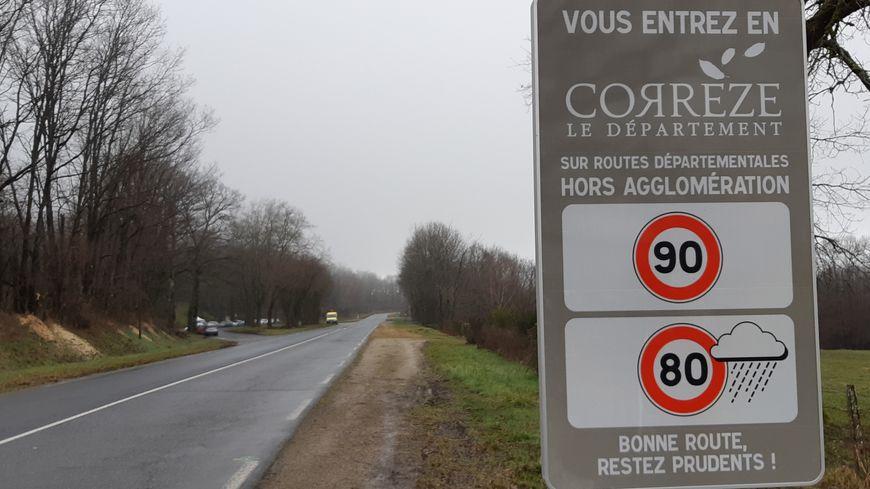 A compter de ce samedi 1er février, on peut rouler à 90 km/h sur les routes départementales de Corrèze
