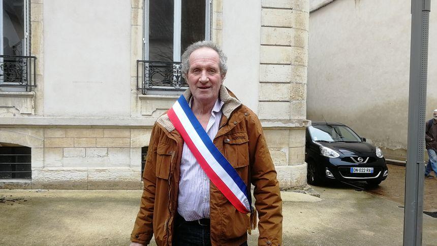 Jean-Marc Dumont, le maire d'UCHON
