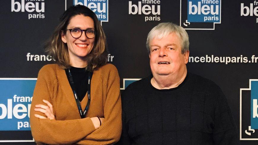 Pia Clemens et Jean-Michel Moutier le 8 janvier 2020.