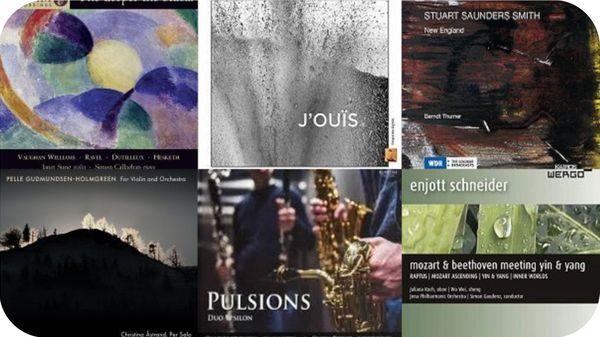 Actualité CD de la création : Daniel Capelletti, Enjott Schneider, Fausto Romitelli, Yann Robin...