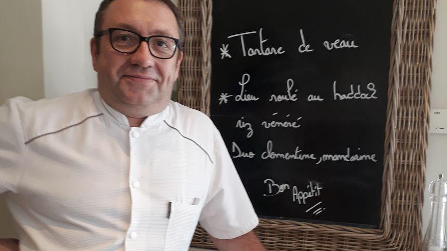 Pierre Prince au restaurant l'Echanson
