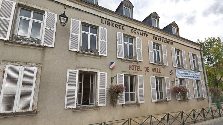 La mairie d'Argenton-sur-Creuse