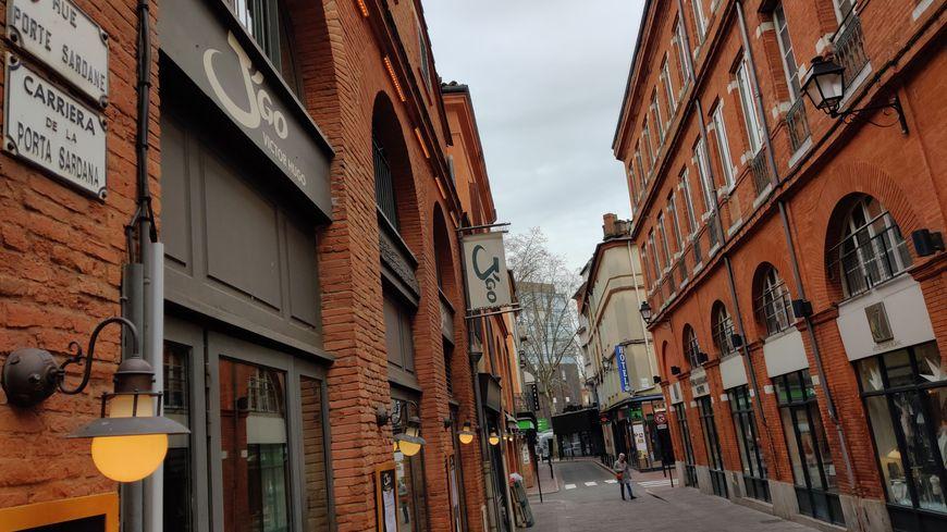 Cette portion de la rue Porte Sardane va devenir la rue Denis Méliet à Toulouse