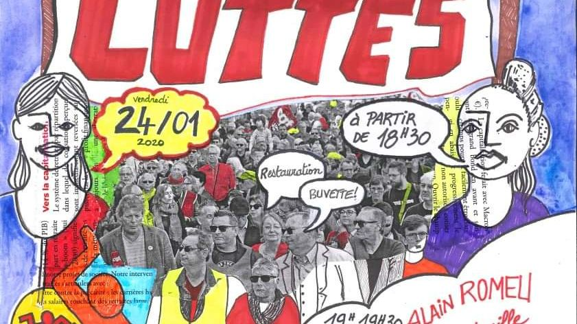 Concert solidarité Béziers contre la réforme des retraites