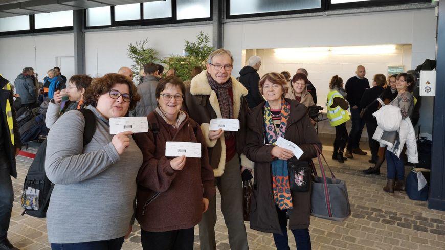 Des touristes picards en partance pour Kittila, en Laponie, à l'aéroport d'Albert.