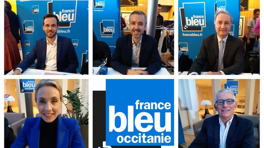 Deuxième débat des municipales des Toulouse avec 5 des têtes de liste qui visent le Capitole