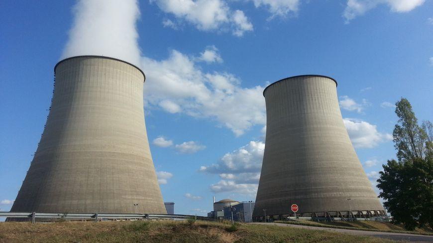 La centrale nucléaire de Belleville sur Loire