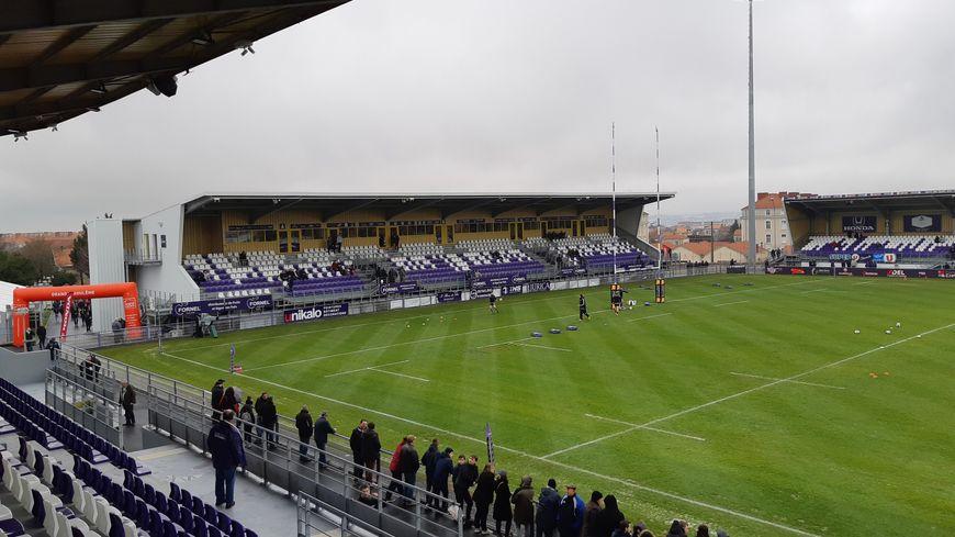 Le stade Chanzy à Soyaux (Charente)
