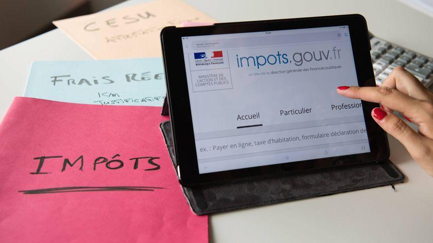 Connaitre son taux de prévélèvement sur le site impôts.gouv.fr