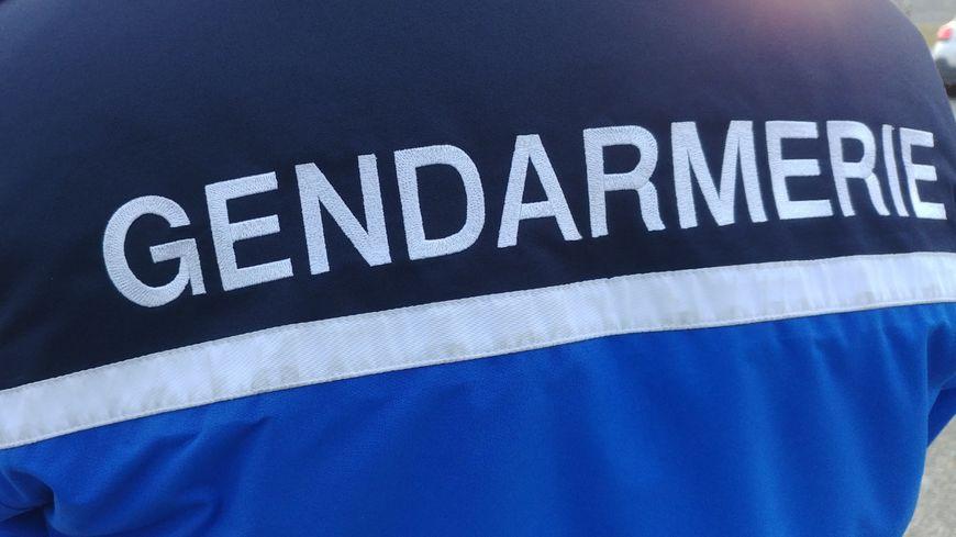 Veste d'un gendarme (Drôme), le 31 décembre 2019.