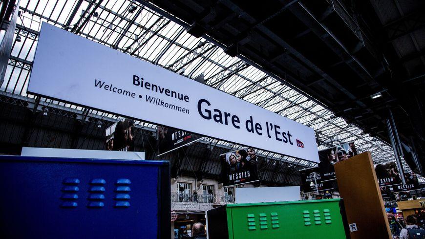 Gare de l'Est à Paris. Photo d'illustration