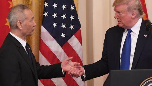 Accord commercial entre les Etats-Unis et la Chine