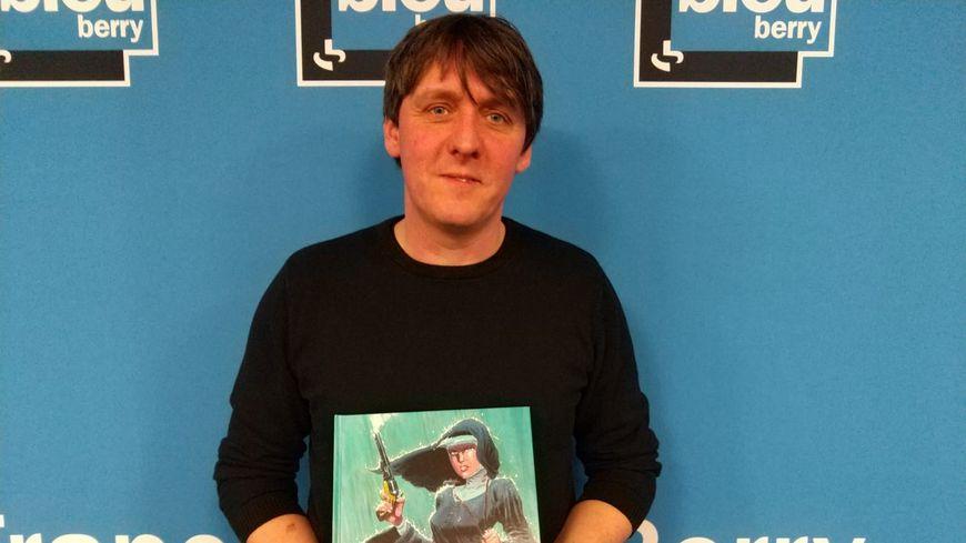 Laurent Astier sera présent au festival de la BD d'Angoulême pour dédicacer ce deuxième tome