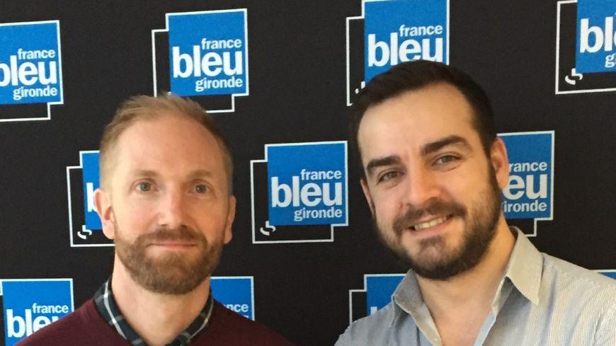 Emmanuel Lefevre et Wilfried Barbot