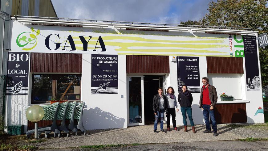 """""""Gaya"""" boutique Bio de la Zone Industrielle Daubourg, sur la route de Poitiers au Blanc"""