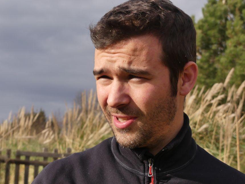 Clément Désigaux, l'un des premiers à expérimenter les parcelles