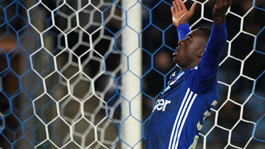 Youssouf Fofana a joué 30 matchs de Ligue 1 avec le Racing Club de Strasbourg et inscrit trois buts