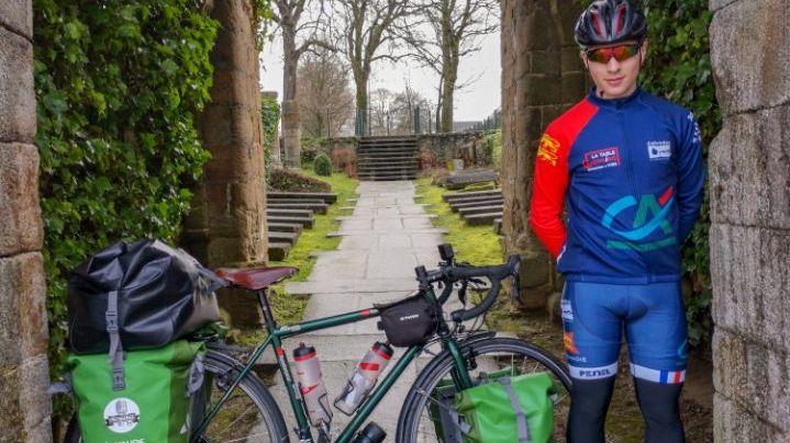 Tanguy Davy va parcourir 16 000 kilomètres en 8 mois à travers l'Europe.