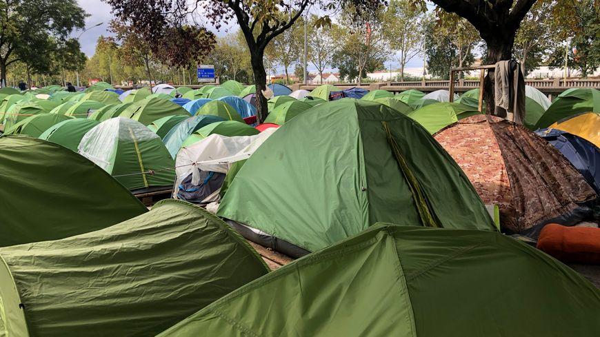Le campement de la porte d'Aubervilliers sera évacué dans les prochaines semaines.